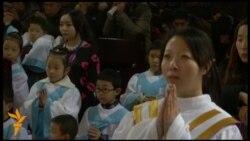 Християни у Китаї зустрічають Різдво