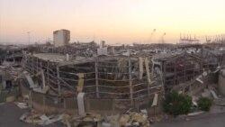 В столице Ливана продолжаются спасательные работы (видео)