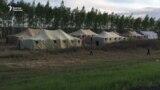 Оренбург: Чатыр лагерде коргологон мигранттар