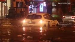 Киев «поплыл»: последствия мощного ливня в столице (видео)