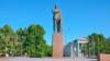 Памятник Ленину на центральной площади Симферополя