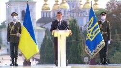 Zelenskıy: «Qorantamıznıñ sofrası başında Donetsk, Lugansk ve Qırım yetişmey» (video)