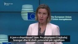 Mogherini porosit Maqedoninë: Mos luaj me zjarr!