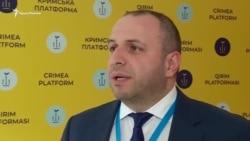 «İnsanlar adalet istey» – Rustem Umerov «Qırım platformasınıñ» işi aqqında (video)