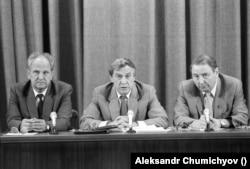ბორის პუგო, გენადი იანაევი, ოლეგ ბაკლანოვი