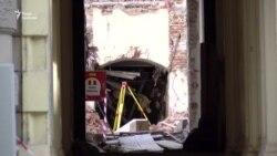 Під час обвалу будівлі у центрі Праги постраждали українці (відео)