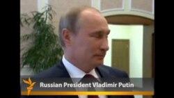 Prezident Putin aýaly bilen aýrylyşdy