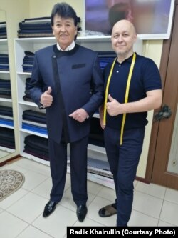 Фидан Гафаров һәм Радик Хәйруллин