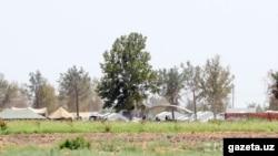 Ауған босқындары орналастырылған лагерь. Термез, Өзбекстан. Сурет Gazeta.uz сайтынан алынды.