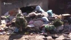 Власти Крыма не могут справиться с мусором (видео)