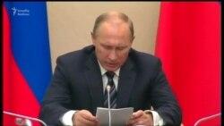 Putin Pentaqona məlumat verildiyini deyir