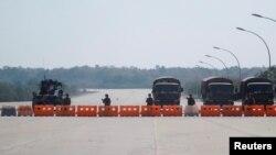 اعلام وضعیت اضطراری پس از کودتا در میانمار