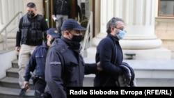 Јордан Орце Камчев пред Кривичниот Суд во Скопје