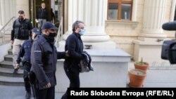 Јордан Камчев пред Кривичниот Суд во Скопје