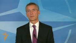 NATO Chief Says Russia Violating Ukraine Cease-Fire