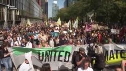 Всесвітній страйк на захист клімату. Відео з Бельгії