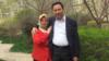 CHINA -- Amine (L) and Yahya (R) Kurban in Urumqi in 2016.