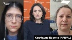 Мария Спирова, Генка Шикерова, Антоанета Тончева