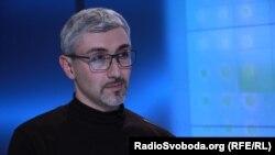 Семен Єсилевський у студії Радіо Свобода