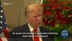 """Donald Trump: """"Economia noastră nu a fost niciodată într-o stare mai bună"""""""