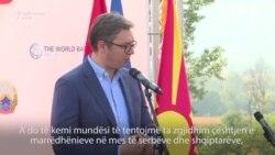 Vuçiq e Zaev diskutojnë për çështjen e kufijve mes Kosovës dhe Serbisë