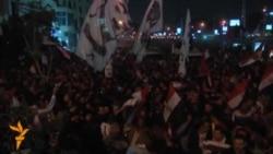 Misirdə Prezident Sarayı qarşısında toqquşma gedir