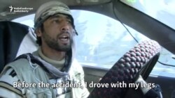 Amputee Soldier Becomes Kabul Cabbie