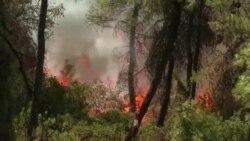 Крупные пожары в Греции, Турции, России