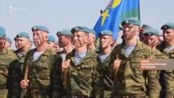 Российские десантники в Крыму: «Отсель грозить мы будем ...» (видео)