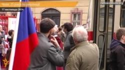Прага: 25-а річниця початку Оксамитової революції