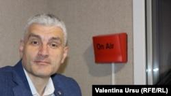 Alexandru Slusari, Platforma DA, în studioul Europei Libere. Chișinău, 17 noiembrie 2020
