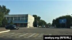 Перекресток в городе Акколь. Акмолинская область, 13 августа 2021 года
