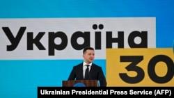 Президентът на Украйна Владимир Зеленски