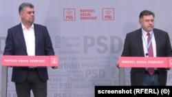 Marcel Ciolacu și Alexandru Rafila
