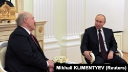 Встреча Лукашенко и Путина 22 апреля