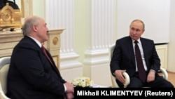 Встреча Владимира Путина и Александра Лукашенко в Москве, 22 апреля 2021 года