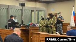 Ильназ Галявиев на суде, 12 мая 2021 года
