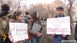 Բողոքի ակցիա՝ Պերմյակովին հայկական կողմին փոխանցելու պահանջով