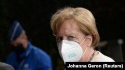 германската канцеларка Ангела Меркел, Брисел, 20.07.2020.