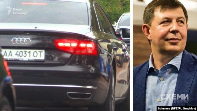 Також журналісти зафіксувати, як до ресторану під'їжджає кілька авто, зокрема – чорна Audi, яка, за даними джерел у поліції, належить Тарасу Козаку