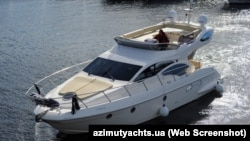 Моторная яхта Аzamut43