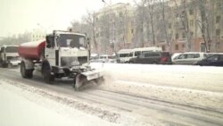 Power Cut As Blizzard Hits Belarus