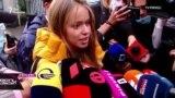 Лиза Ясько встретилась с Михаилом Саакашвили
