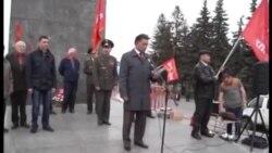 Уфадагы коммунистларның 1 май җыенында Юнир Котлыгуҗин чыгышы