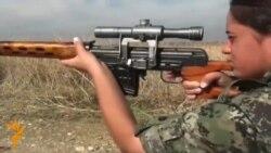 24.11.2014 Курдски жени борци и смрзнувачка во Казахстан