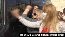 Protestul femeilor în Minsk