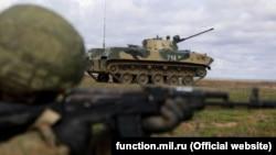Российские военные учения в Крыму, март 2021 года (иллюстрационное фото)