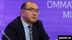 "The director of Uzbekistan's Agency for Information and Mass Communications, Asadjon Khodjaev, has warned some media outlets that there could be ""serious legal consequences"" if they do not rein in their reporting. (file photo)"