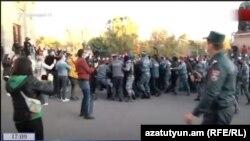 تظاهرات در ارمنستان