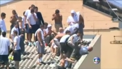 Braziliya dustaqları 10-a qədər adamı girov götürüb